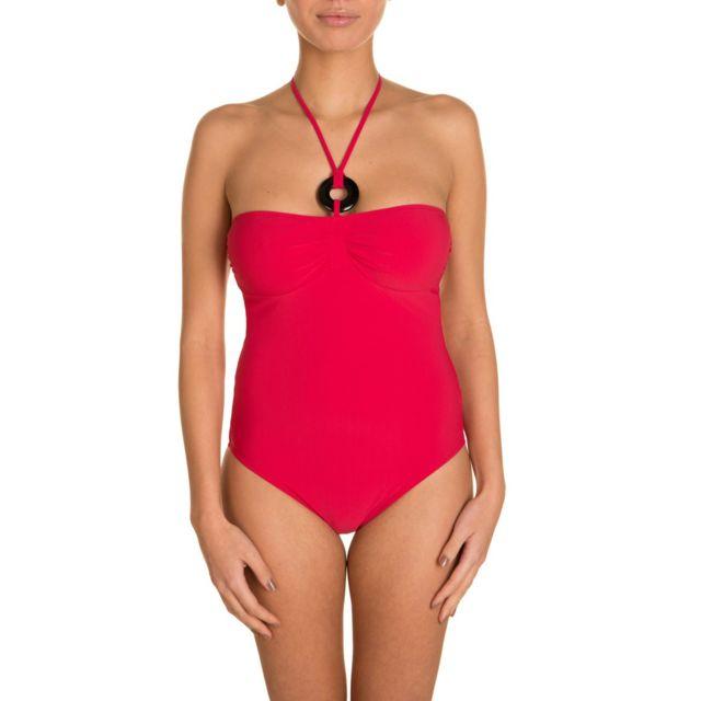 3db743f5ed Etam - Maillot de bain 1 pièce Panama - Rouge - pas cher Achat / Vente  Maillots 1 pièce - RueDuCommerce