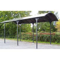 Habrita Foresta - Carport camping-car en aluminium 27,5m2 - Car3676ALCC