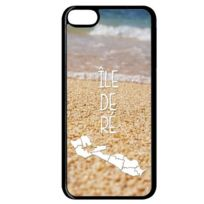 Apple - Coque ile de re plage 160 compatible ipod touch 6 bord noir