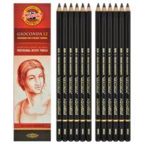 Koh-I-Noor - 4B Aquarelle Crayons Graphite