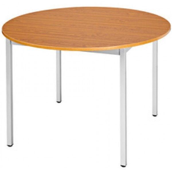 Sodematub Naudin Table Ronde Diametre 110 Cm Pietement Aluminium