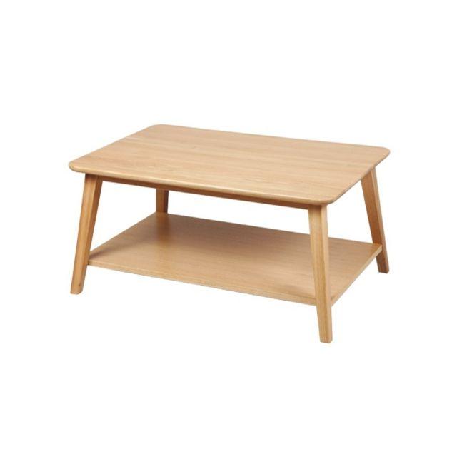 Tousmesmeubles Table basse Rectangulaire - Quinta