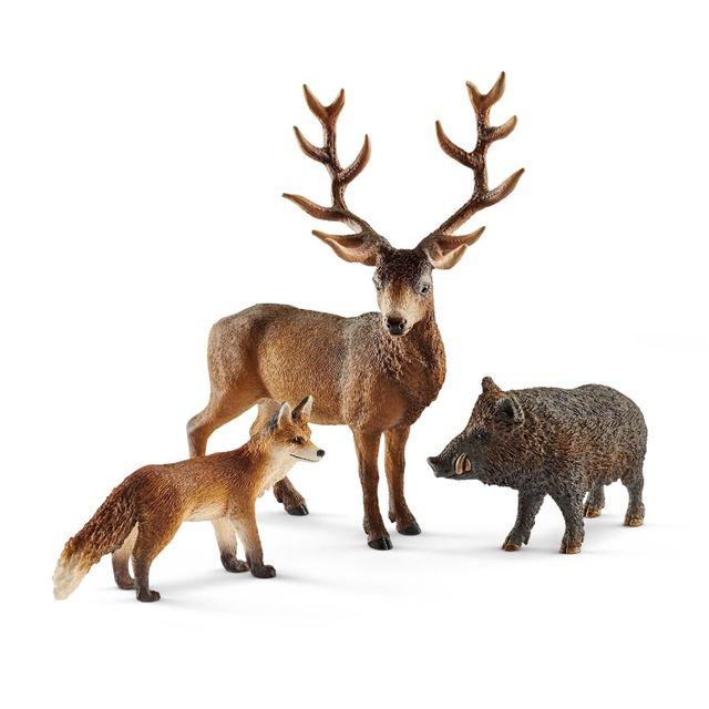 Schleich - Coffret de figurines   Habitants de la forêt Europe - pas ... eba80f29223