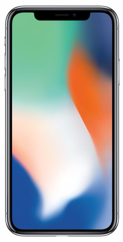 iPhone X - 64 Go - MQAD2ZD/A - Argent