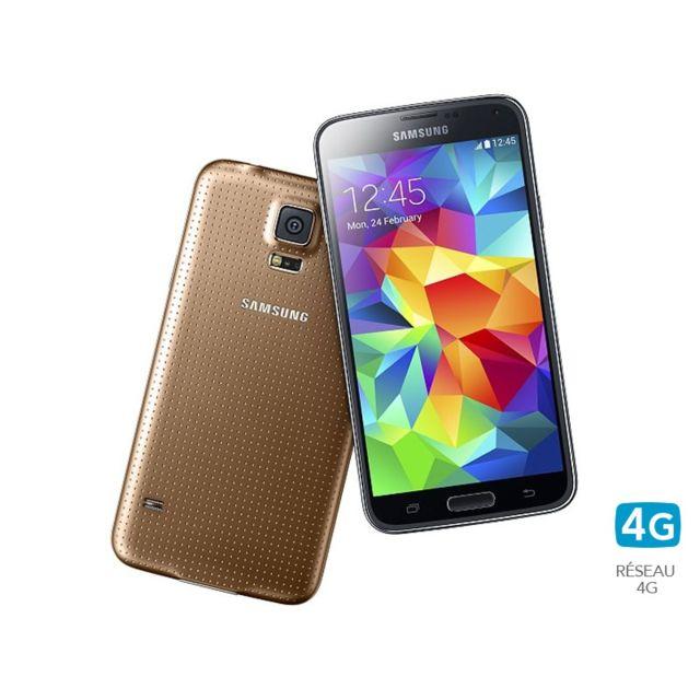 Samsung - Galaxy S5 Or 16 Go