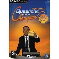Mindscape - Questions Pour Un Champion Edition Speciale 20 Ans Pc - Pc - Vf