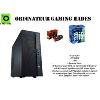 G-motions - Ordinateur, tour de bureau Assemblage Hades Gaming par Intel Core I5 7400 4 cœur up to 3.5 Ghz - 8 Go Ram Ddr4 - 1To Disque - Gtx 1050 2Go - W10 - Garantie 3 ans