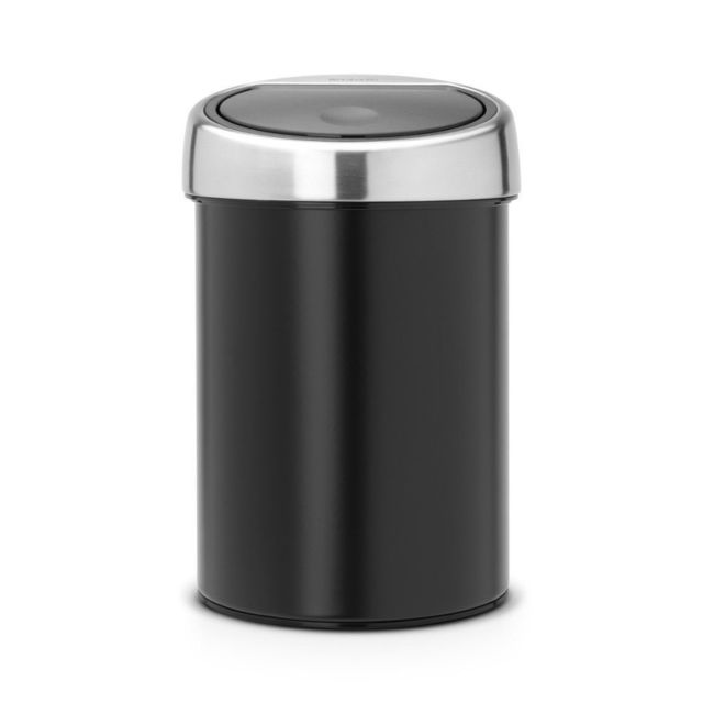 BRABANTIA Touch Bin, 3L - Matt Black