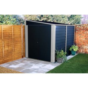 Trimetals garage moto titan 5 30 m2 mcg960anthracite for Ouvrir un garage moto