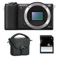 Sony - Pack Alpha 5100 Noir Nu + Sac + Sd 4 Go