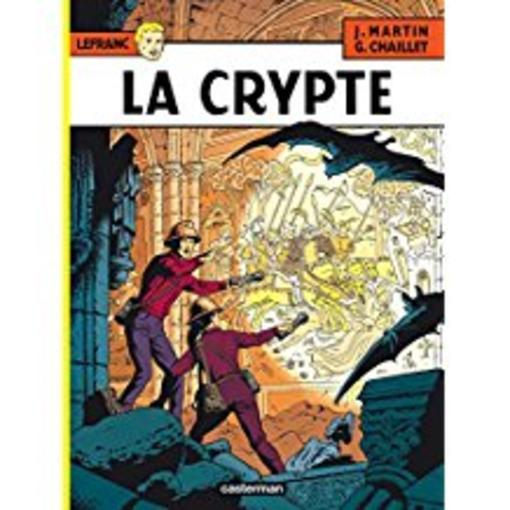 Lefranc tome 9 ; la crypte