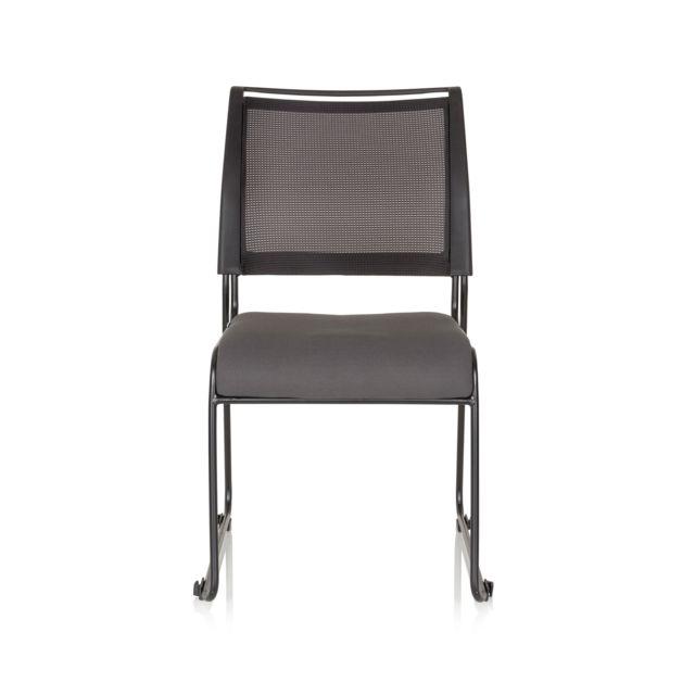 gris chaise tissu Chaise Padua conférence V tissu de visiteur maille eYHIWEDb29