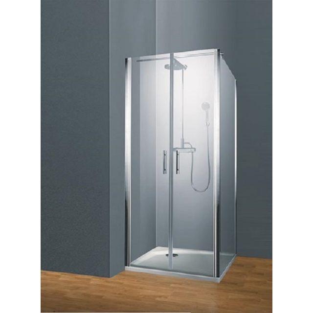 SCHULTE - Portes de douche battantes, 90 x 190 cm, parois de douche ... 62d3ee40db3