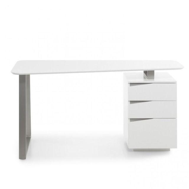 Inside 75 Bureau design Winter blanc