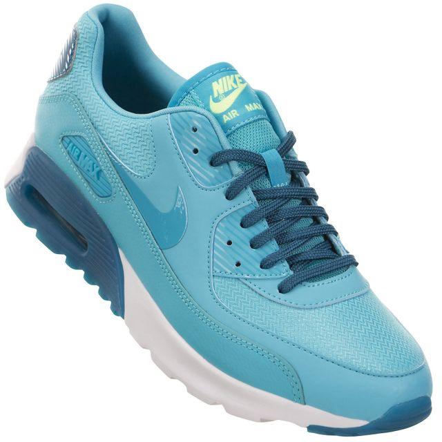 save off f0c6b 9d4da Nike - Nike - Basket - Femme - Air Max 90 Ultra Essential - Bleu Gamma