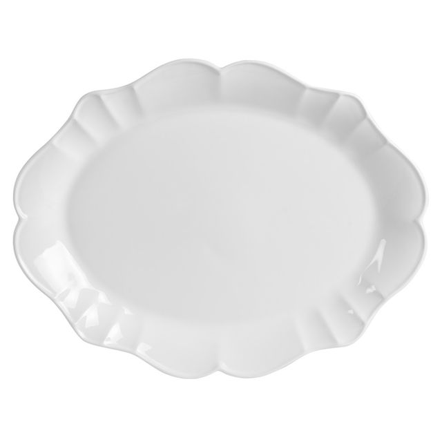 TABLE PASSION PLAT OVAL ROMEO 47X37 CM