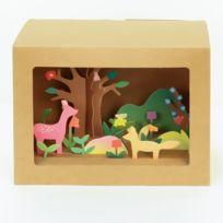 - Boite Origami Paysage Printemps à créer