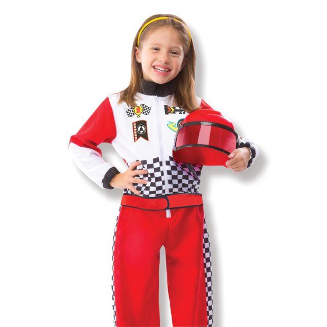 Melissa & Doug Déguisement Pilote Formule 1 - Enfant3/5 ans 94 à 108 cm