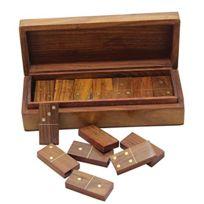 Royaltyroute - Jeux de dominos en bois mis idées-cadeaux de Craft créations