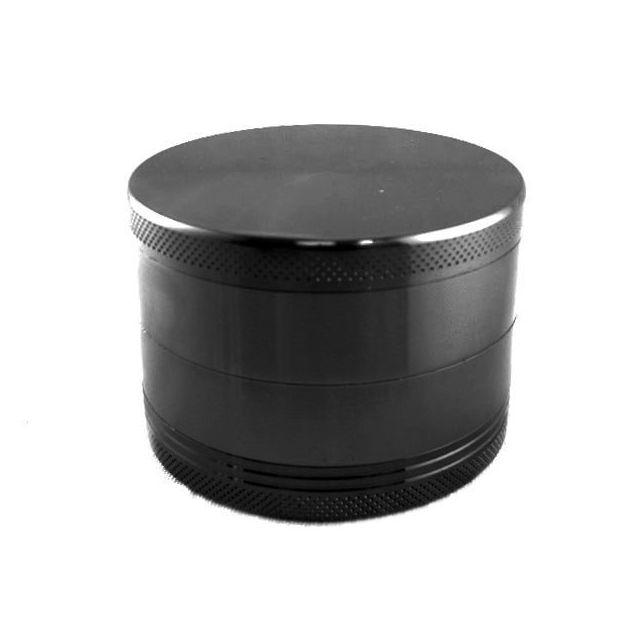 Smoke Pas Cher Grinder 4 parts diamètre: 63 mm bi-couleurs noir