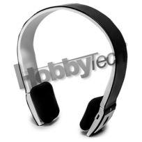 Hobbytech - Casque stéréo Bluetooth qualité Hifi couleur noire + micro intégré