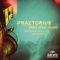 Archiv Produktion - Pablo Heras-Casado - Praetorius Boitier cristal