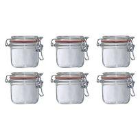 Le Parfait - lot de 6 bocaux à terrine 200g - 900512