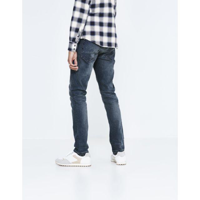 CELIO JEAN JOSILVER Indigo 5 poches slim super soft