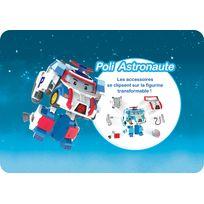 ROBOCAR POLI - Véhicule transformable Poli - Astronaute - 83311