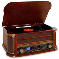 AUNA - RM1-Belle Epoque 1908 Retro Stereo CD MP3 USB en bois