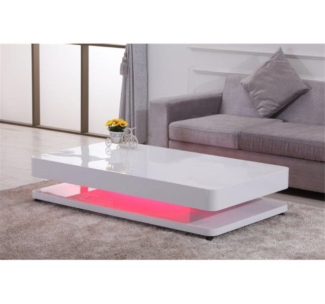 CHLOE DESIGN Table basse design RALF - blanc