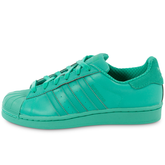 Adidas Superstar W Adicolor Originals Basketstennis Mint Shock nBnfq8gwH