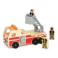 Melissa & Doug - 19391 - VÉHICULE Miniature - ModÈLE Simple - Camion De Pompiers