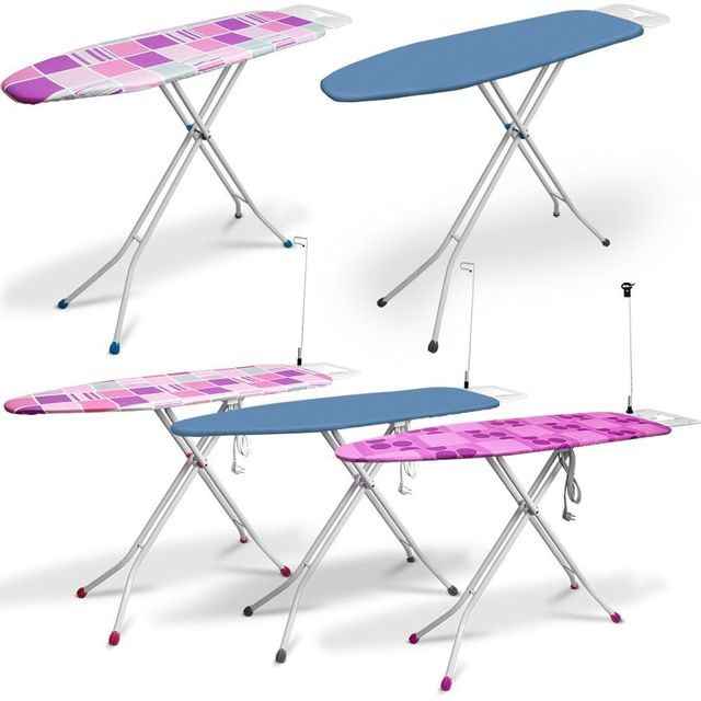 rocambolesk superbe planche repasser 140x38cm raccordement lectrique table repasser. Black Bedroom Furniture Sets. Home Design Ideas