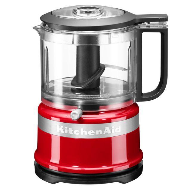 KITCHENAID mini robot ménager 0.83l 240w rouge empire - 5kfc3516eer