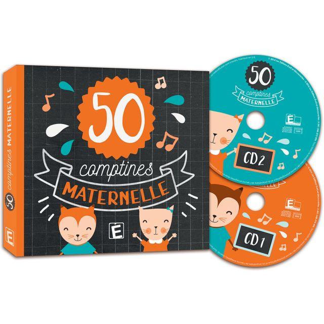 Eveil Et Decouverte Cd comptines : 50 plus belles comptines de maternelle
