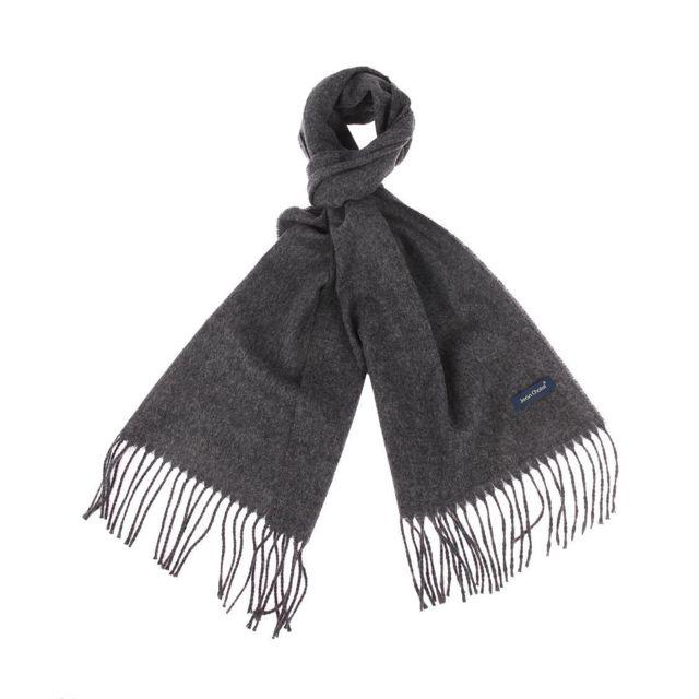 nouvelles variétés couleurs harmonieuses correspondant en couleur Jean Chatel - Echarpe en laine vierge gris foncé - pas cher ...