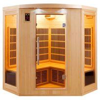 FRANCE SAUNA - APOLLON-3-4 P Infrarouge Sauna