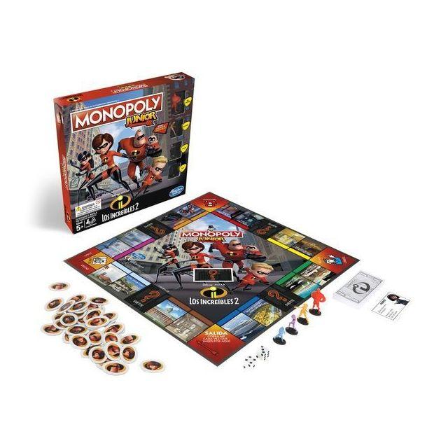 Hasbro Disney Pixar Cars 3 MONOPOLY JUNIOR jeu de plateau pour 2-4 joueurs 5 ans