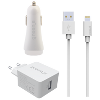 BIGBEN - Pack chargeur blanc lightning