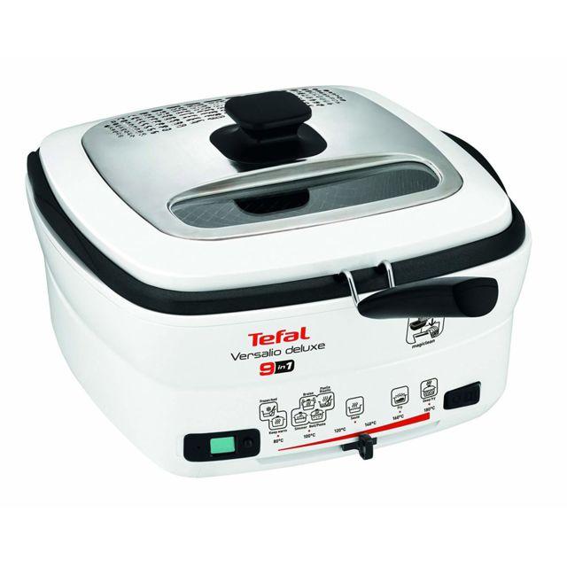 Tefal friteuse électrique 2L de 1,3KG 1600W gris blanc noir