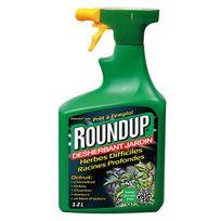 Roundup - désherbant herbes difficiles pulvérisateur 1.2l - hd12b