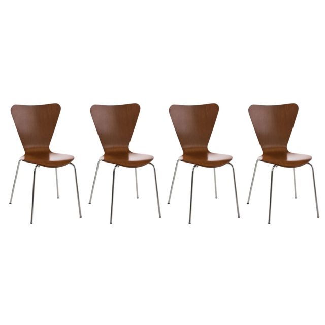 Moderne Lot de 4 Chaises de conférence Siège visiteur Dakar