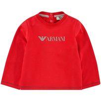 Armanijunior - T-shirt rouge