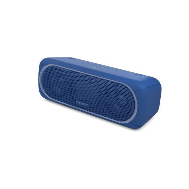 SONY Enceinte bluetooth - SRSXB40BBU - Bleu Dotée d'un format compact, elle vous suivra dans tous vos instants festifs pour vous procurer une ambiance pleine de vie.