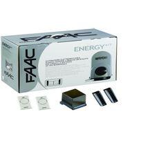 FAAC - Motorisation portail 2 battants -Energy-Kit 24V Integral 104575144