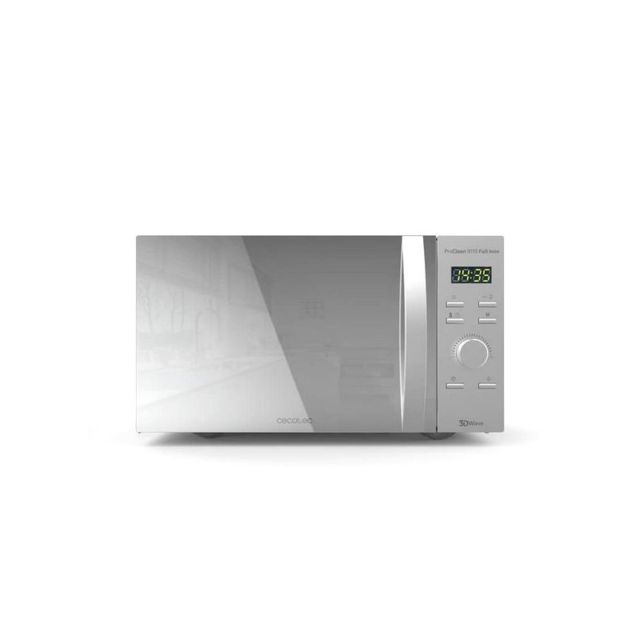 Cecotec Micro-ondes avec Gril ProClean 8110 28 L 1000W Argenté