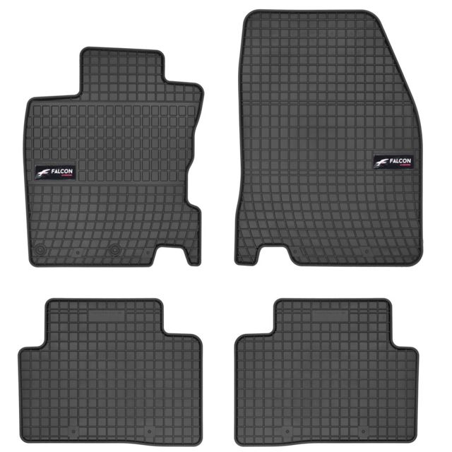 dbs tapis voiture auto caoutchouc sur mesure pour nissan qashqai 2 de 11 2013 2018 4. Black Bedroom Furniture Sets. Home Design Ideas