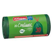 ALFAPAC - COULISSAC - 20 sacs poubelle - 30L - CXV03020OF