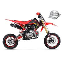 Gunshot - Moto Pit Bike 140 Fx - Édition Monster - Rouge - 2017
